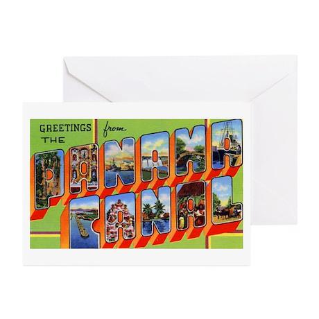 Panama Canal Greetings Greeting Cards (Pk of 10)