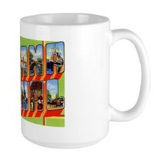 Panama Canal Greetings Mug