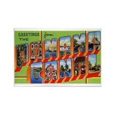 Panama Canal Greetings Rectangle Magnet