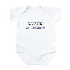 Guard In Training Infant Bodysuit