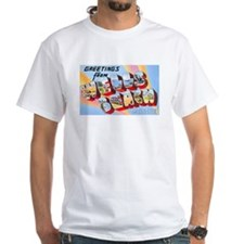 Wells Beach Maine Greetings (Front) Shirt