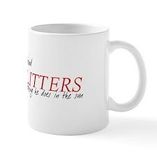 My Boyfriend Glitters Twiligh Mug