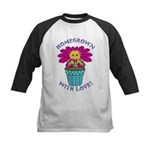 Homegrown with Love Kids Baseball Jersey