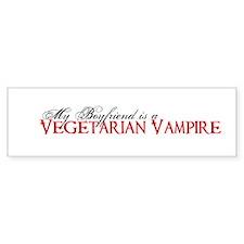 Vegetarian Vampire Twilight S Bumper Bumper Sticker