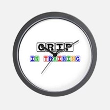 Grip In Training Wall Clock