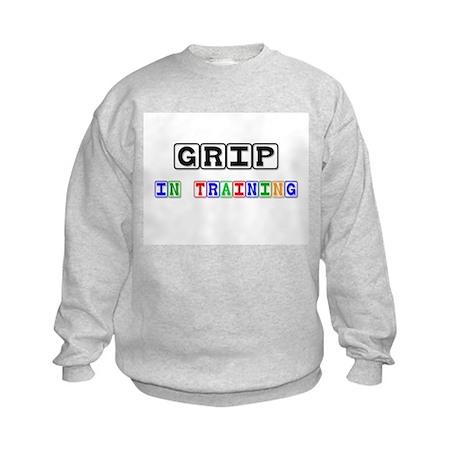 Grip In Training Kids Sweatshirt