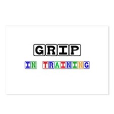 Grip In Training Postcards (Package of 8)