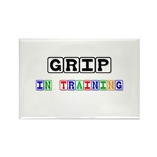 Grip In Training Rectangle Magnet (10 pack)