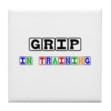Grip In Training Tile Coaster