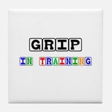 Grip In Training Tile Coaster