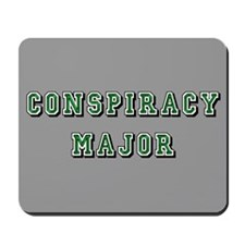 Gray Conspiracy Major Mousepad