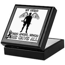 Cute Fallen soldiers Keepsake Box