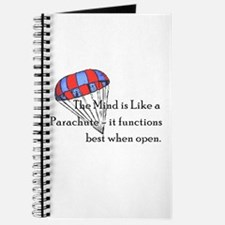 The Mind is like a parachute Journal