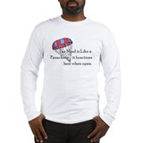 A mind is like a parachute Long Sleeve T-shirts