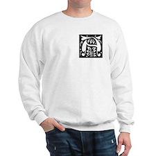 Art Nouveau Initial A Sweatshirt