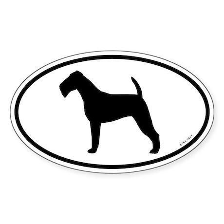 Irish Terrier Sticker (Oval 10 pk)