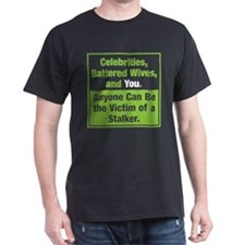 Stalking Victims Advocacy Unisex T-Shirt