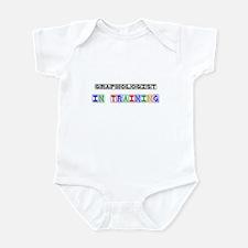 Graphologist In Training Infant Bodysuit