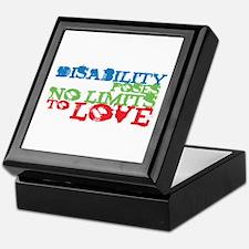 Disability + Love Keepsake Box