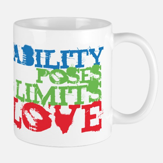 Disability + Love Mug