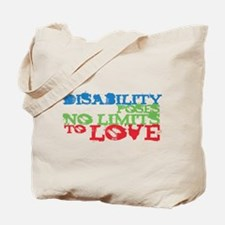 Disability + Love Tote Bag