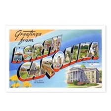 North Carolina Greetings Postcards (Package of 8)