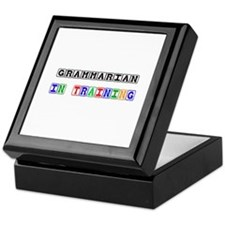 Grammarian In Training Keepsake Box