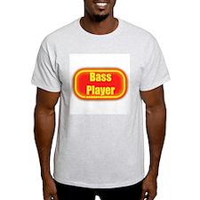 Neon Sign Bass Player T-Shirt