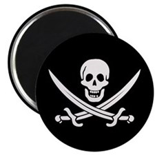 Calico Jack Pirate Magnet