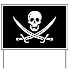Calico Jack Pirate Yard Sign