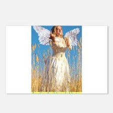 Cute Funny angels Postcards (Package of 8)
