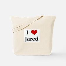 I Love Jared Tote Bag