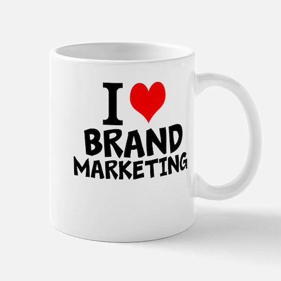 I Love Brand Marketing Mugs