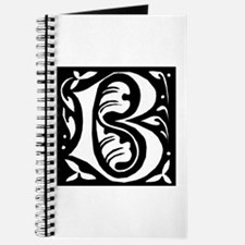 Art Nouveau Initial B Journal