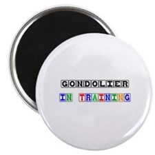 Gondolier In Training Magnet