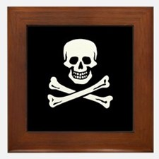 Edward England's Pirate Framed Tile