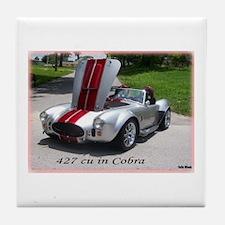 427 cu in Cobra Tile Coaster