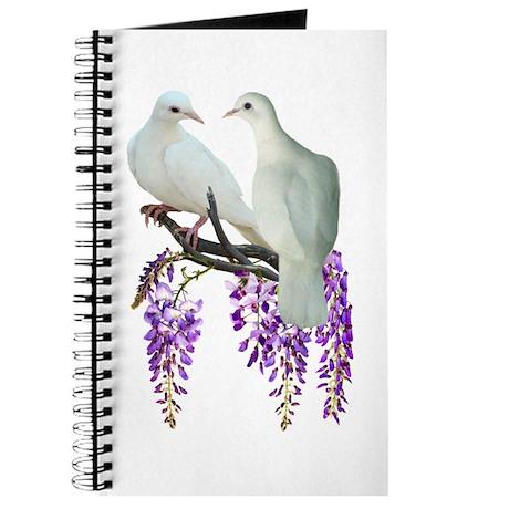 Doves in Wisteria Journal