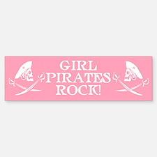 Girl Pirates Rock Bumper Bumper Bumper Sticker