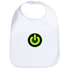 Power Symbol Green Bib