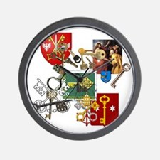 Key Collecting Collectors Wall Clock