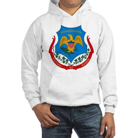 Mississippi Coat of Arms Hooded Sweatshirt