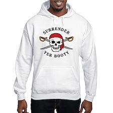 Surrender Yer Booty Hoodie