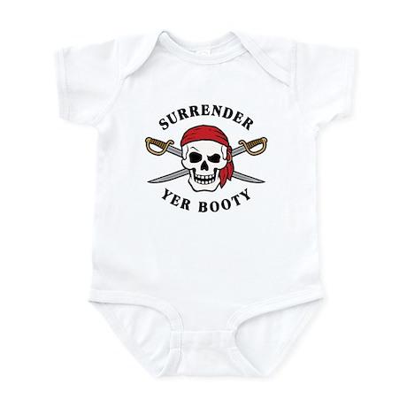 Surrender Yer Booty Infant Bodysuit