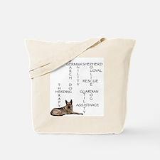GSD crossword puzzle Tote Bag