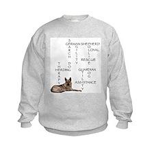 GSD crossword puzzle Sweatshirt