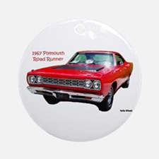 1967 Plymouth Road Runner Ornament (Round)