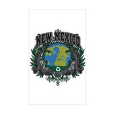 New Mexico Green Pride Rectangle Decal