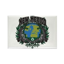 New Mexico Green Pride Rectangle Magnet