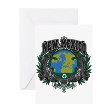 New Mexico Green Pride Greeting Card